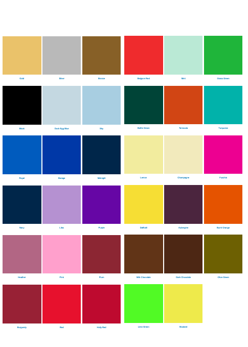 marquee barn lining palette colours