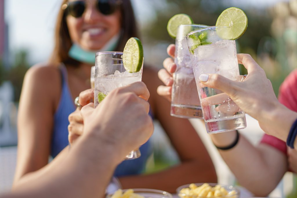 Garden Party Drinks