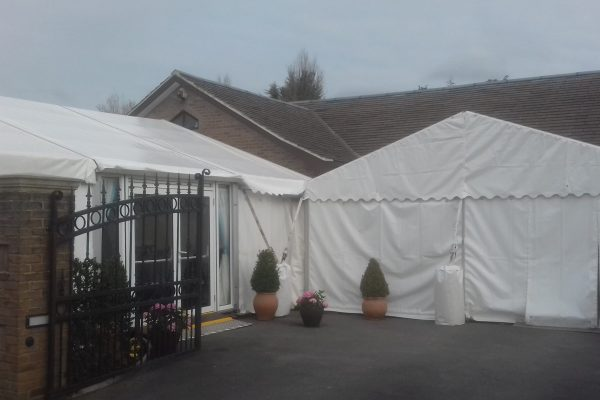 Temporary Marquee