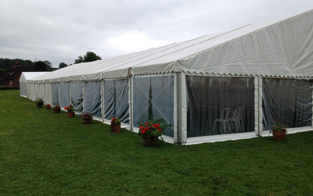 marquee hire for festivals and shows